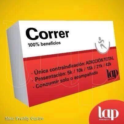 medicamento para runners