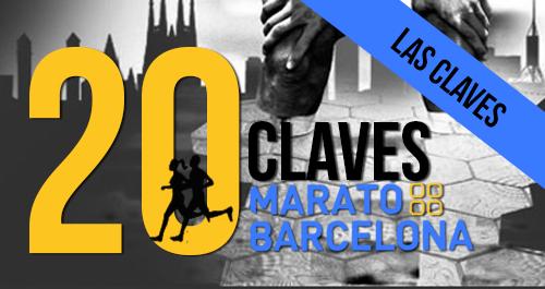 LAS CLAVES RECORRIDO MARATO BARCELONA 2015